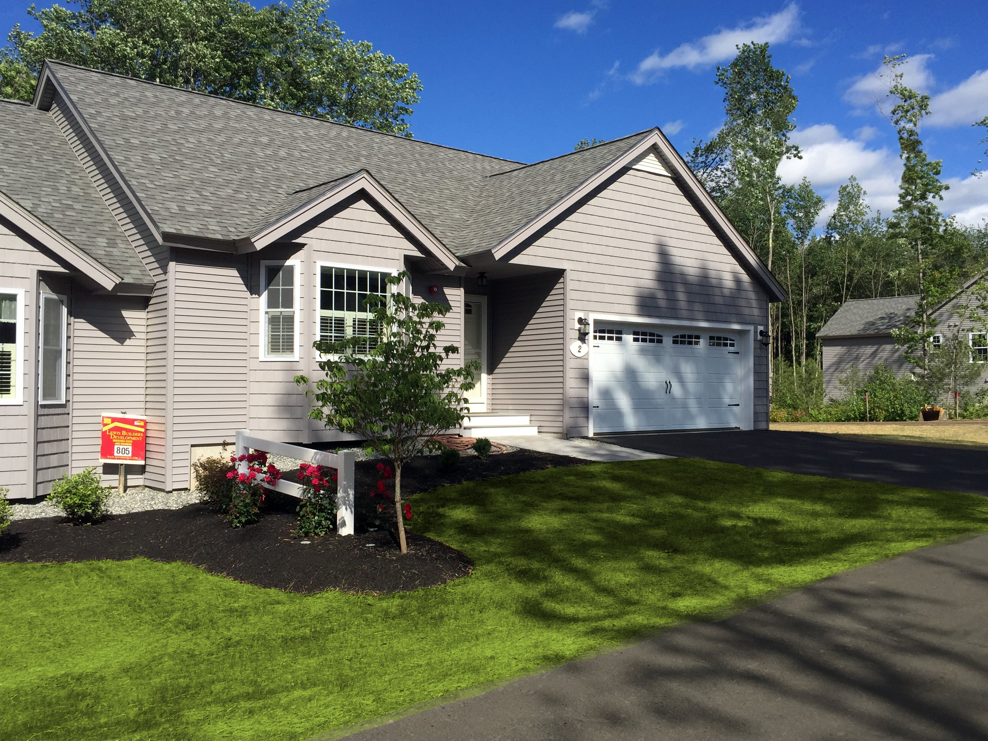 New Home in Atkinson NH built by Lewis Builders in 2016