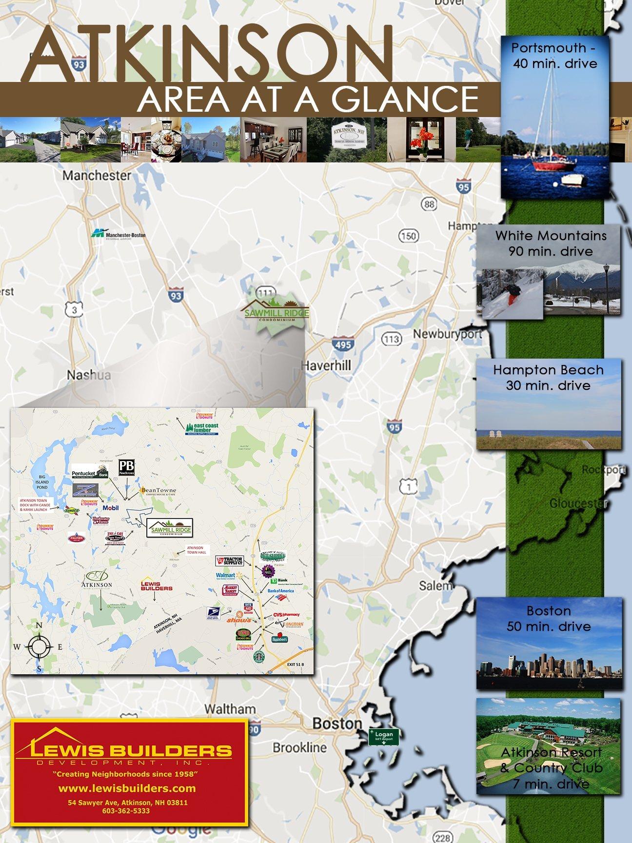 Atkinson Area Map - Atkinson Area At A Glance
