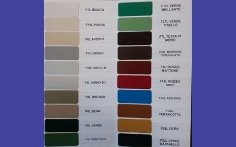 colori tapperelle