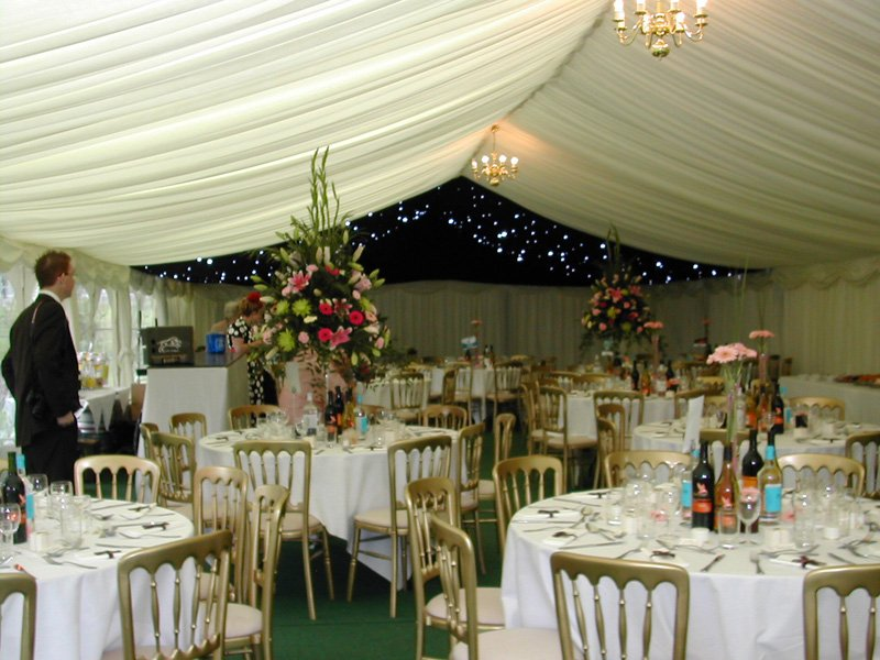 dining arranged in an event