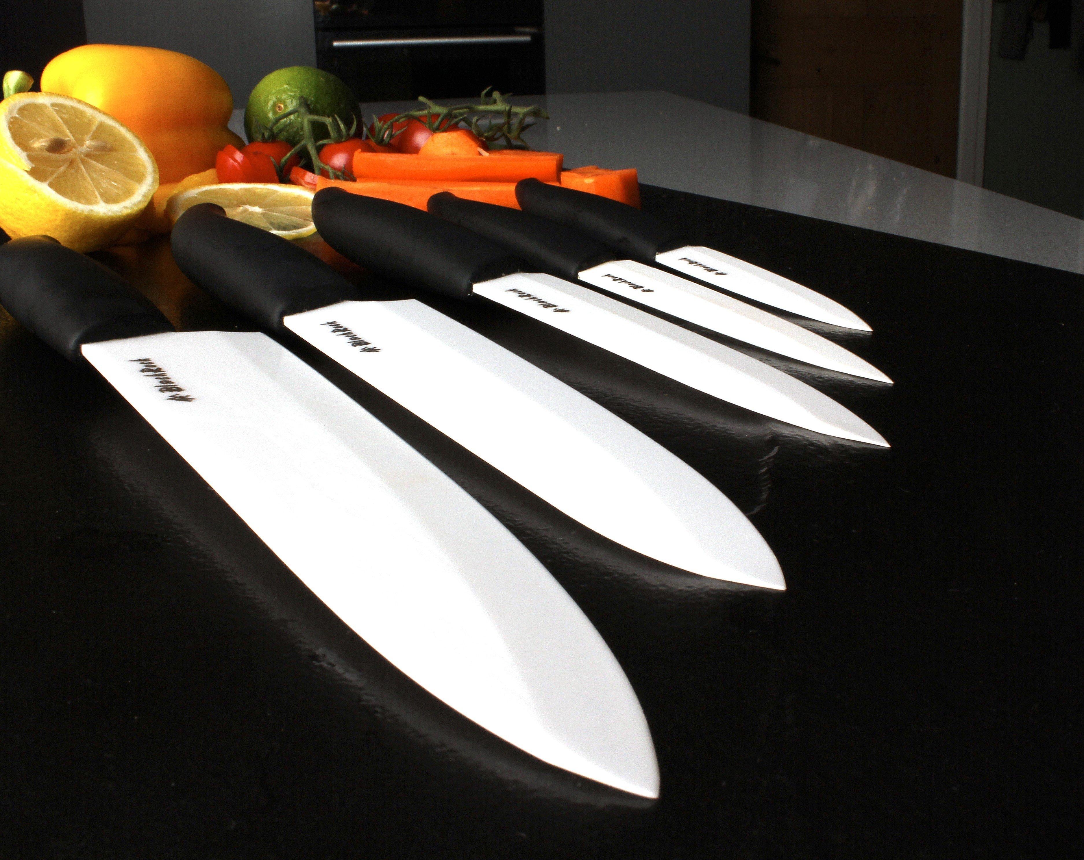set di coltelli affilati