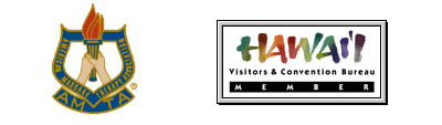 AMTA, Hawaii Visitors & Convention Bureau logos