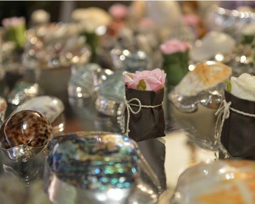 Oggetti in argento per bomboniere