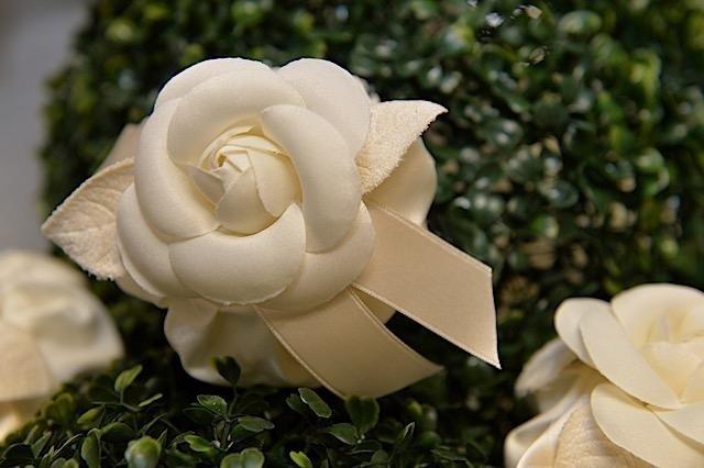 Rosa per bomboniere avorio