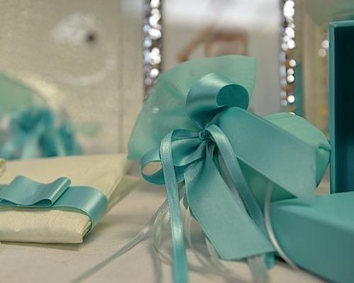 Bomboniera color Tiffany