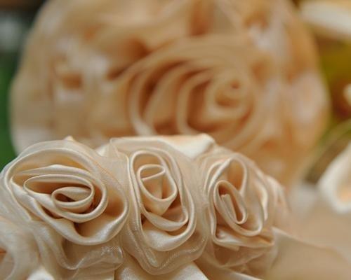 Rose decorative in raso