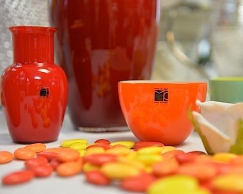 Ciotole in vetro colorato