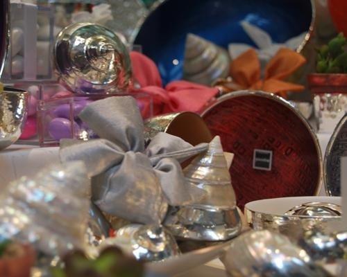 Conchiglie in argento per bomboniere