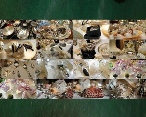 Bomboniere assortite in argento
