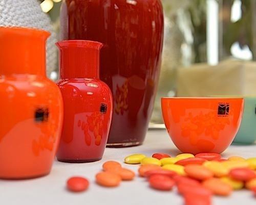 Vasi in vetro colorato