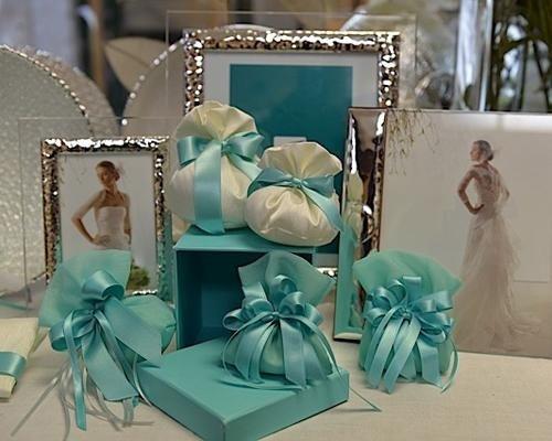 Bomboniere azzurro Tiffany