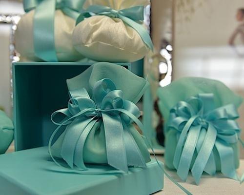 Sacchetti color Tiffany