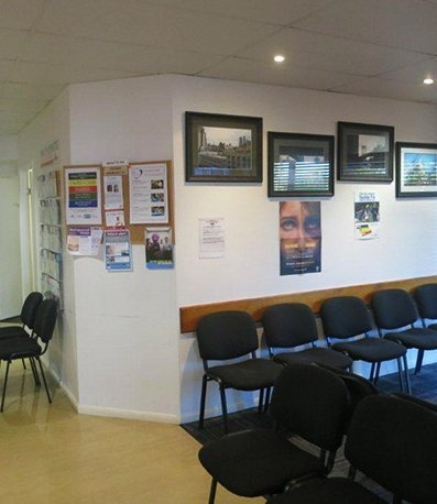 salisbury medical centre waiting hall