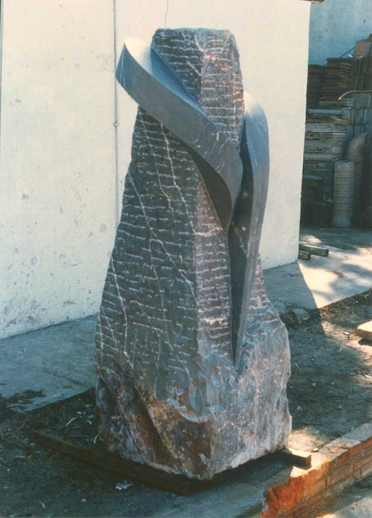 Mexicaanse beweging (1987). Beeld staat in Mexico-stad.