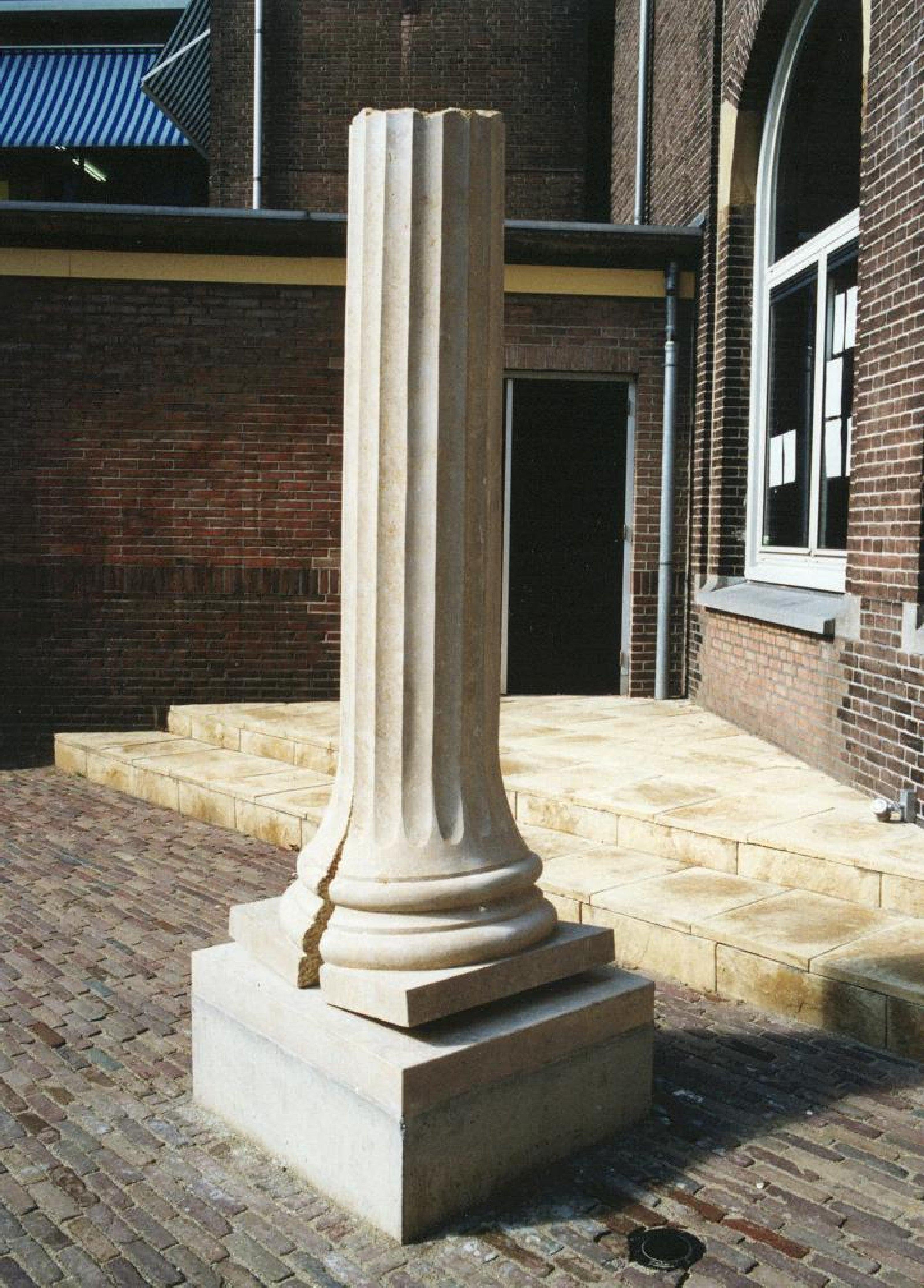 Orakel (1999, massengis). Opdracht van Stedelijk Gymnasium Dordrecht.