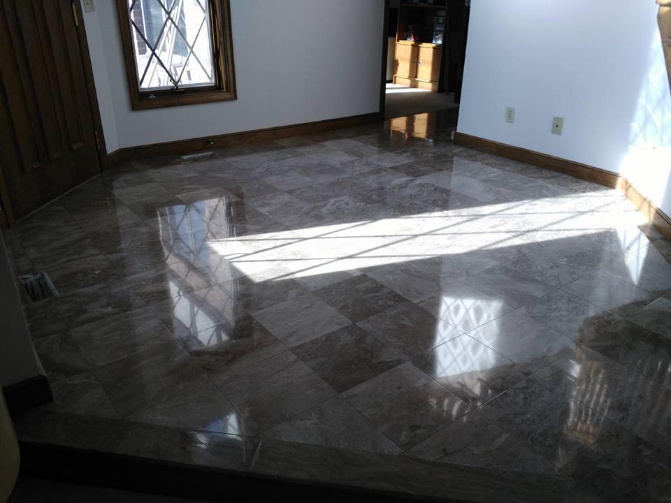 Shining Marble Floor