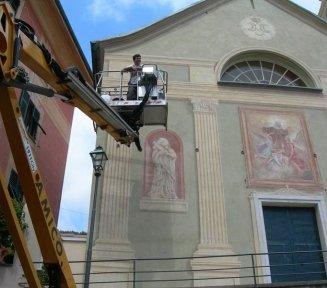 chiesa santa chiara bogliasco