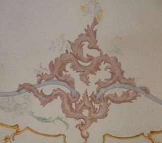 decorazione muraria restaurata