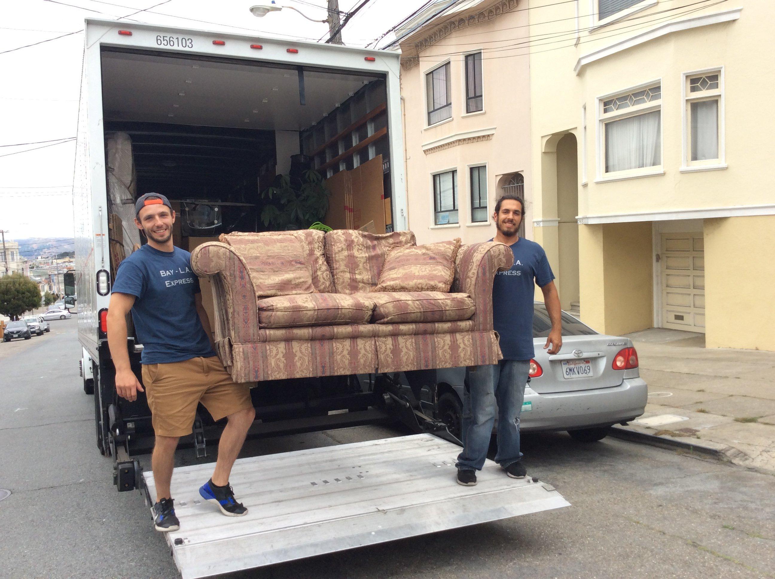 Intrastate Moving Service San Francisco, CA