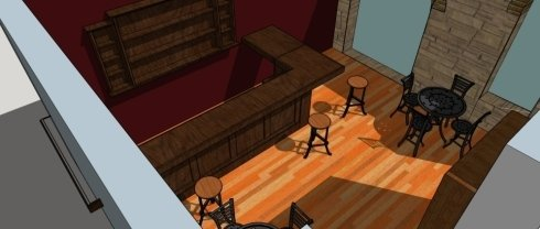 bancone bar