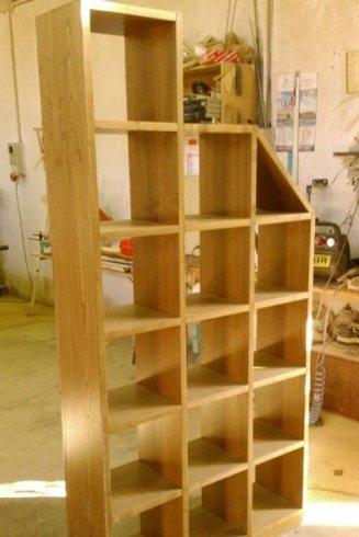 librerie legno massello