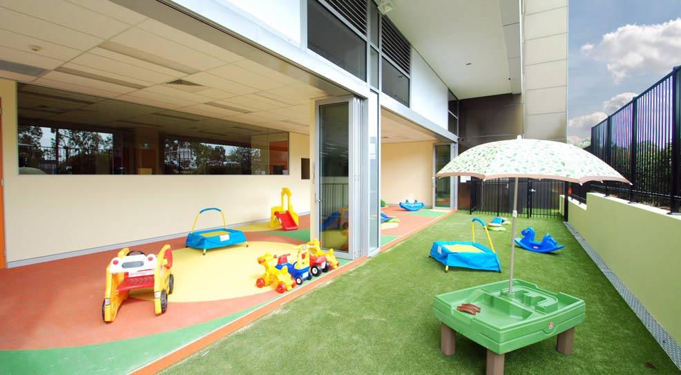 indoor outdoor play area