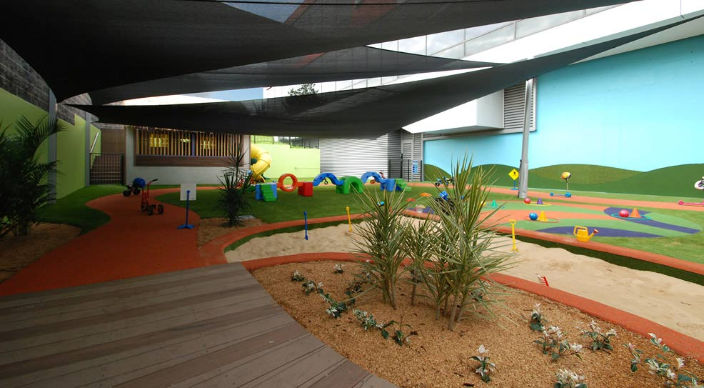 outdoor covered play area