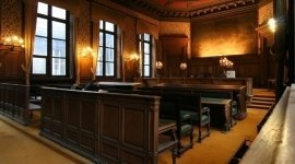 aula di tribunale, tribunale