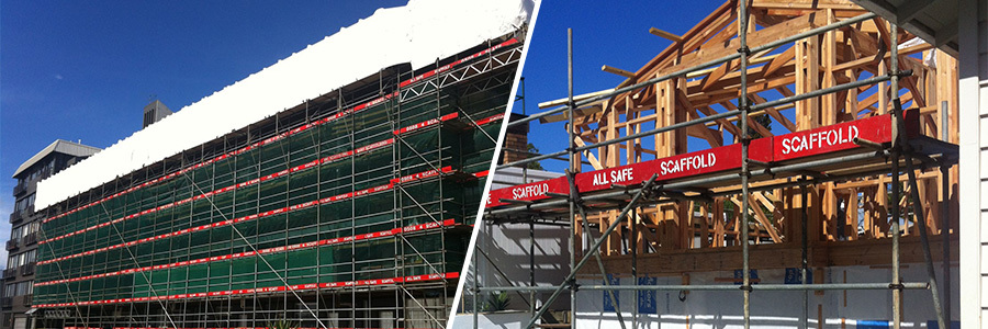 All Safe Scaffolding hire in Auckland