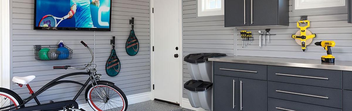 Custom Garage Storage Organizers