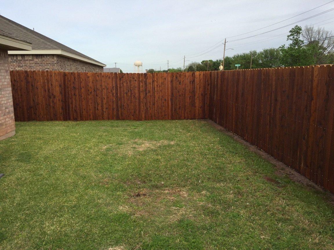 Wood Fence Abilene, TX
