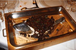 piatti a base di pescce