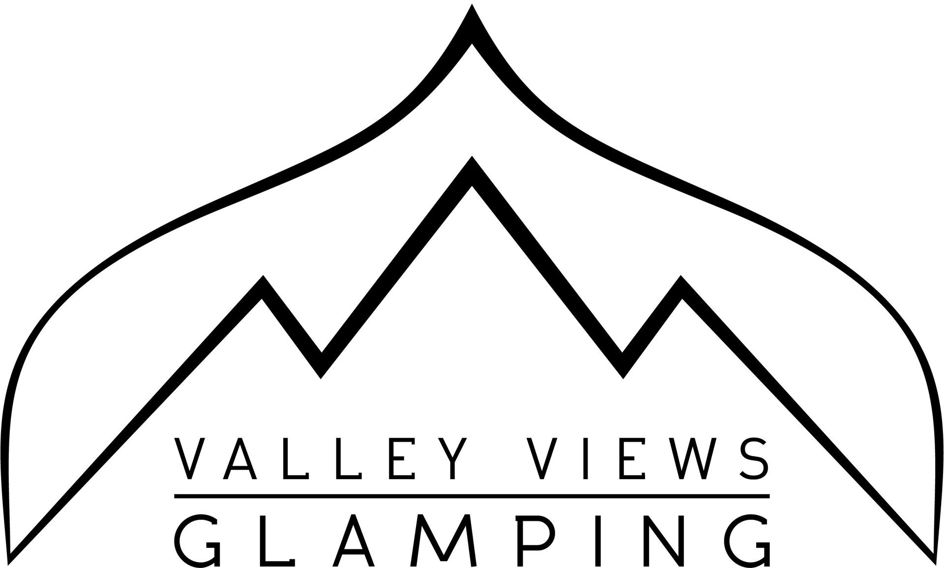 Logo for Valley view glamping
