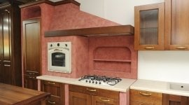 cucina con forno incassato, mobili componibili, mobili per esterno