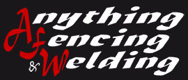 anything fencing and welding business logo