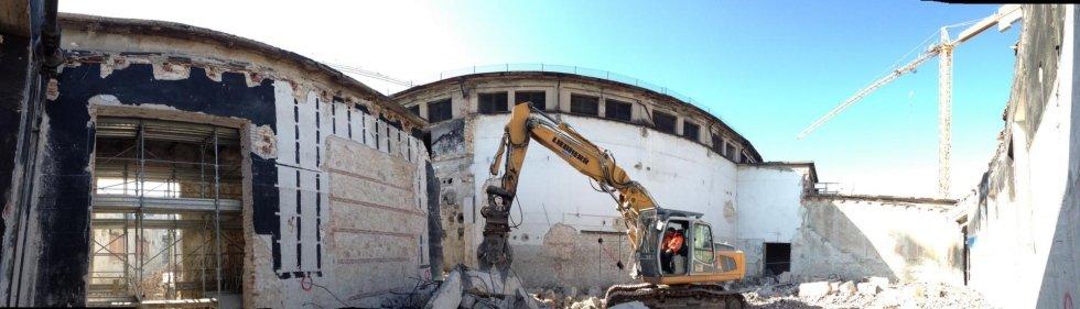Demolizione Ex Magazzini Generali di Verona