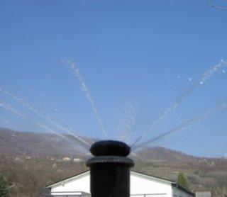 Irrigatore, impianti di irrigazione