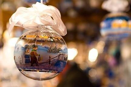 palla di neve in vetro