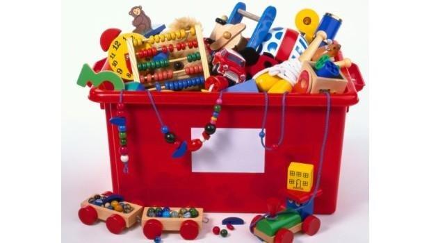 raccolta giocattoli