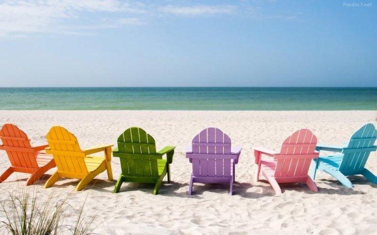 sedie spiaggia