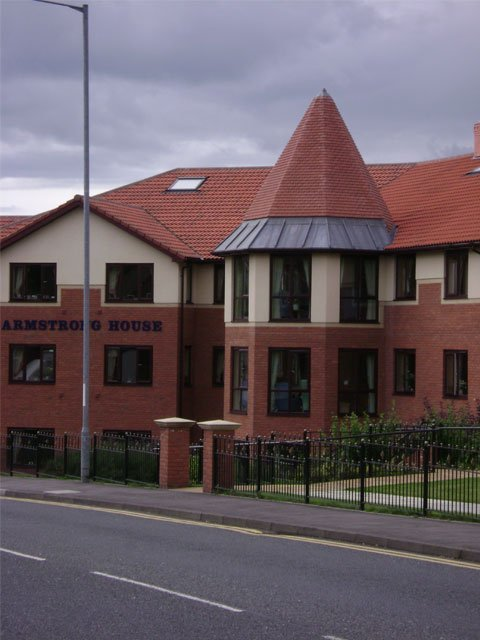 Armstrong House in Newcastle