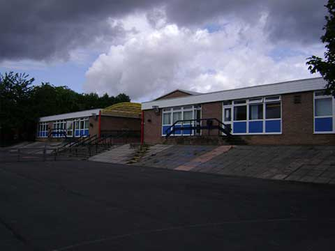 Wide view of St. John's Primary School