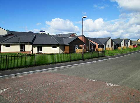 Bungalows on the same street