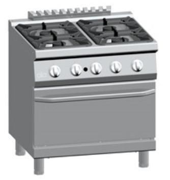 Vendita cucine a gas torino grugliasco tuttobar servie - Marche cucine a gas ...
