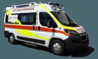 servizio ambulanze - Onoranze Funebri Annamaria Nato