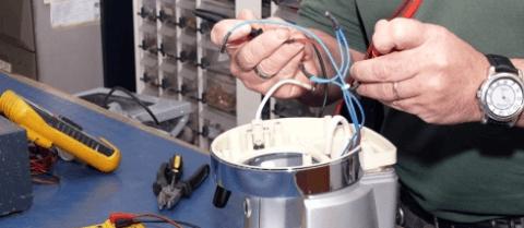 riparazione impianti elettrici di elettrodomestici