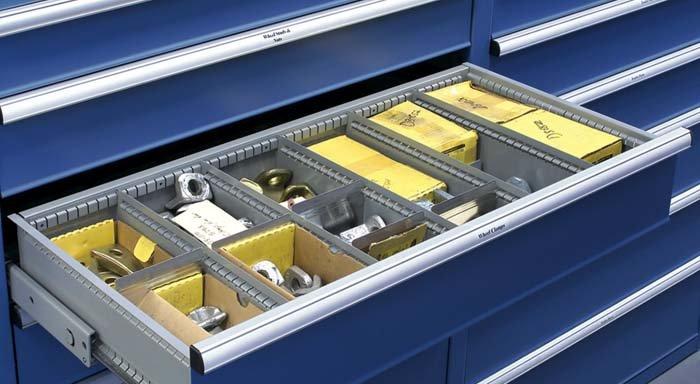 cassetto contenente minuteria