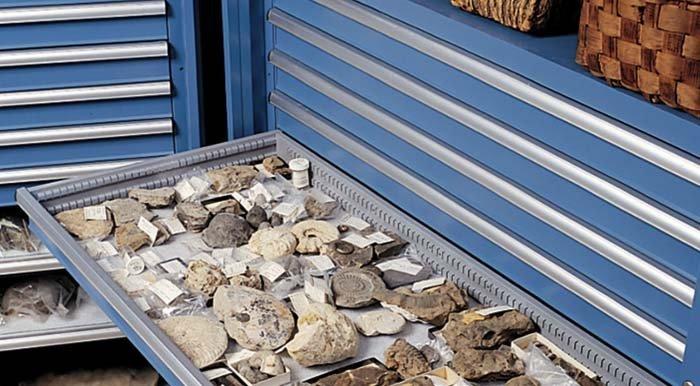 esposizione di reperti archeologici