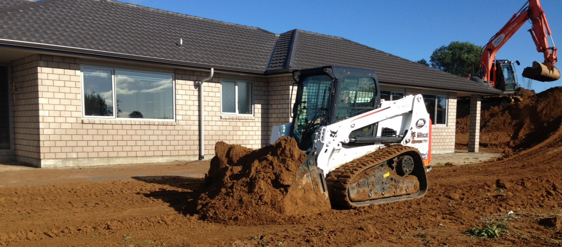 Earthmoving services in Waikato