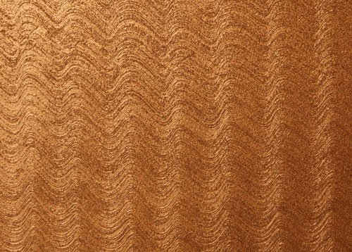 Colore marrone con ondulazioni chiare